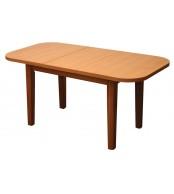 Jedálenský stôl rozkladací ŠTEFAN oválny - S021