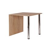 Jedálenský stôl KRYŠTOF 80x80, nohy chróm - S136-80
