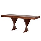 Jedálenský stôl FREDO, rozkladací 160 / 220x90 - S181-160