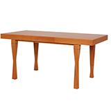 Jedálenský stôl TREY, rozkladací 120 / 160x80 - S182