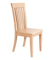 Drevená stolička celodrevená KLÁRA, masív buk - Z06