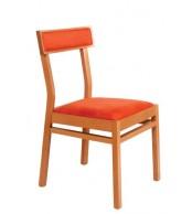 Drevená stolička INGRID, masív buk - Z511