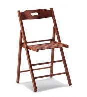 Drevená stolička celodrevená BOŽENA, masív buk - Z520