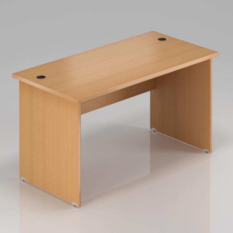 Kancelársky stôl Komfort, drevená podnož, 180x70x76 cm - BKA180 11