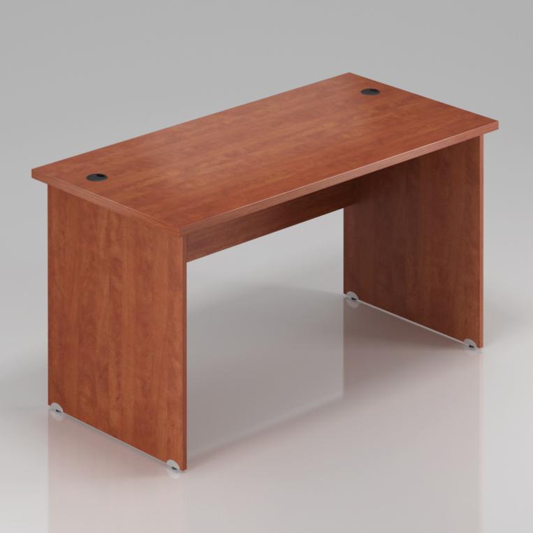 Kancelársky stôl Komfort, drevená podnož, 180x70x76 cm - BKA180 03