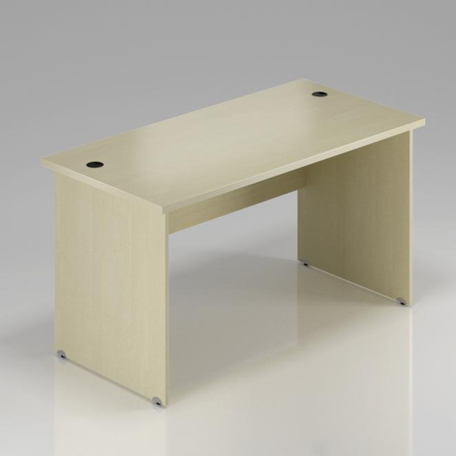 Kancelársky stôl Komfort, drevená podnož, 180x70x76 cm - BKA180 12