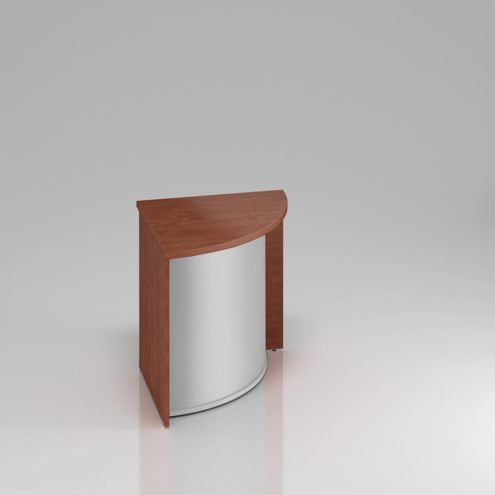 Recepčný rohový pult Komfort, 70x70x76 cm - LKA90 03