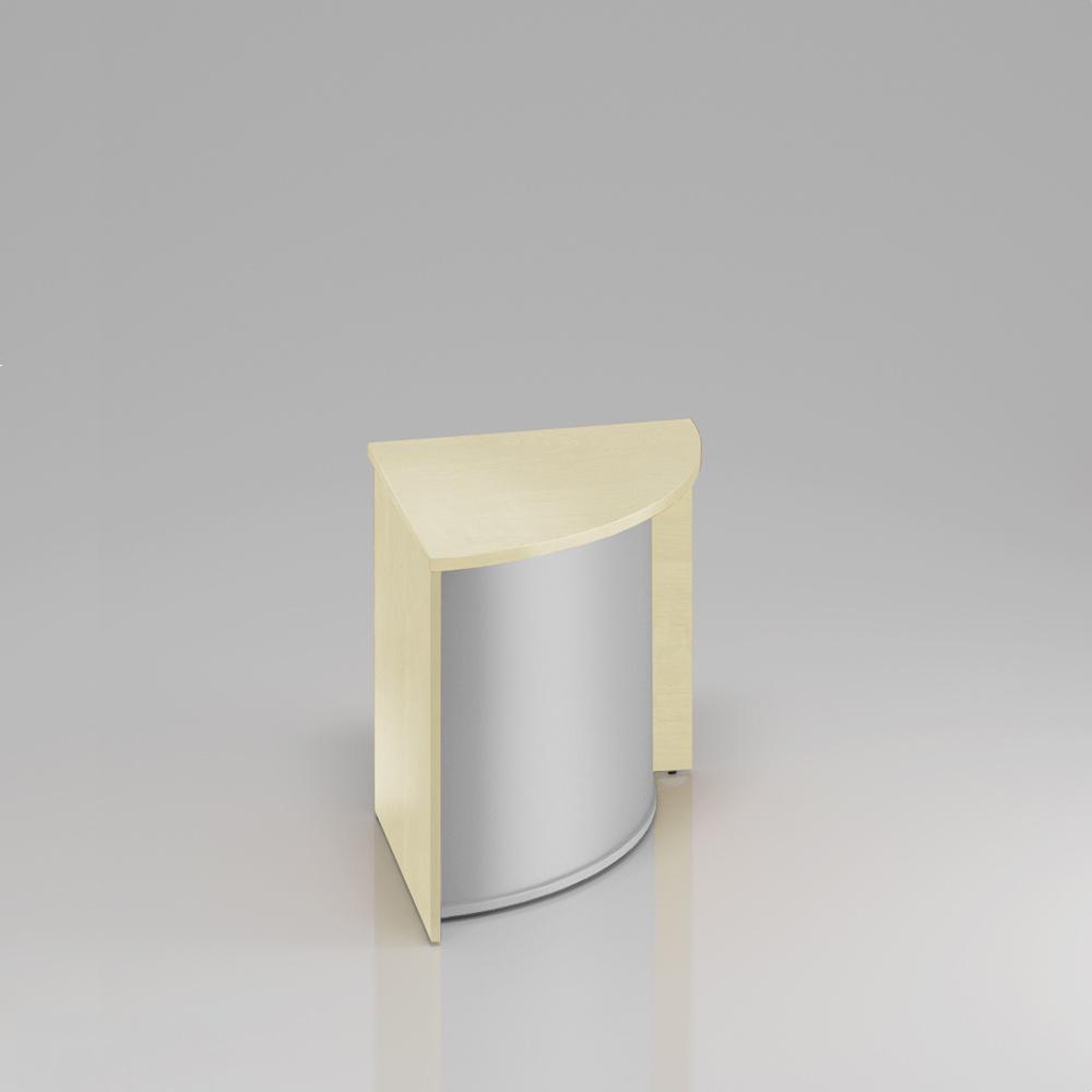 Recepčný rohový pult Komfort, 70x70x76 cm - LKA90 12