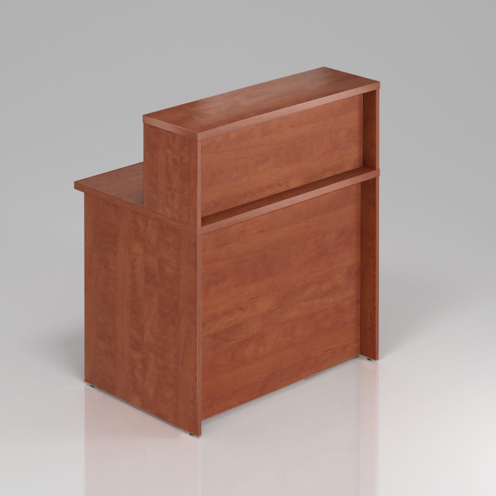Recepčný pult s nadstavbou Komfort, 80x70x111 cm - NLKA08 03
