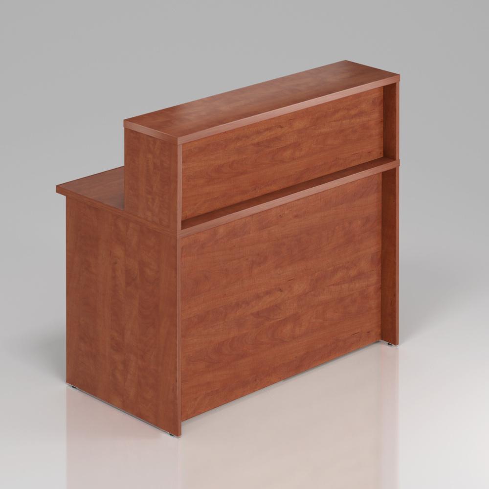 Recepčný pult s nadstavbou Komfort, 120x70x111 cm - NLKA12 03