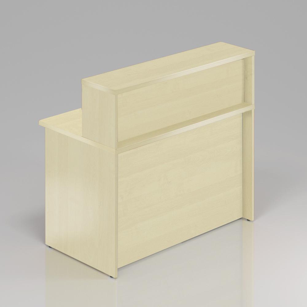 Recepčný pult s nadstavbou Komfort, 120x70x111 cm - NLKA12 12