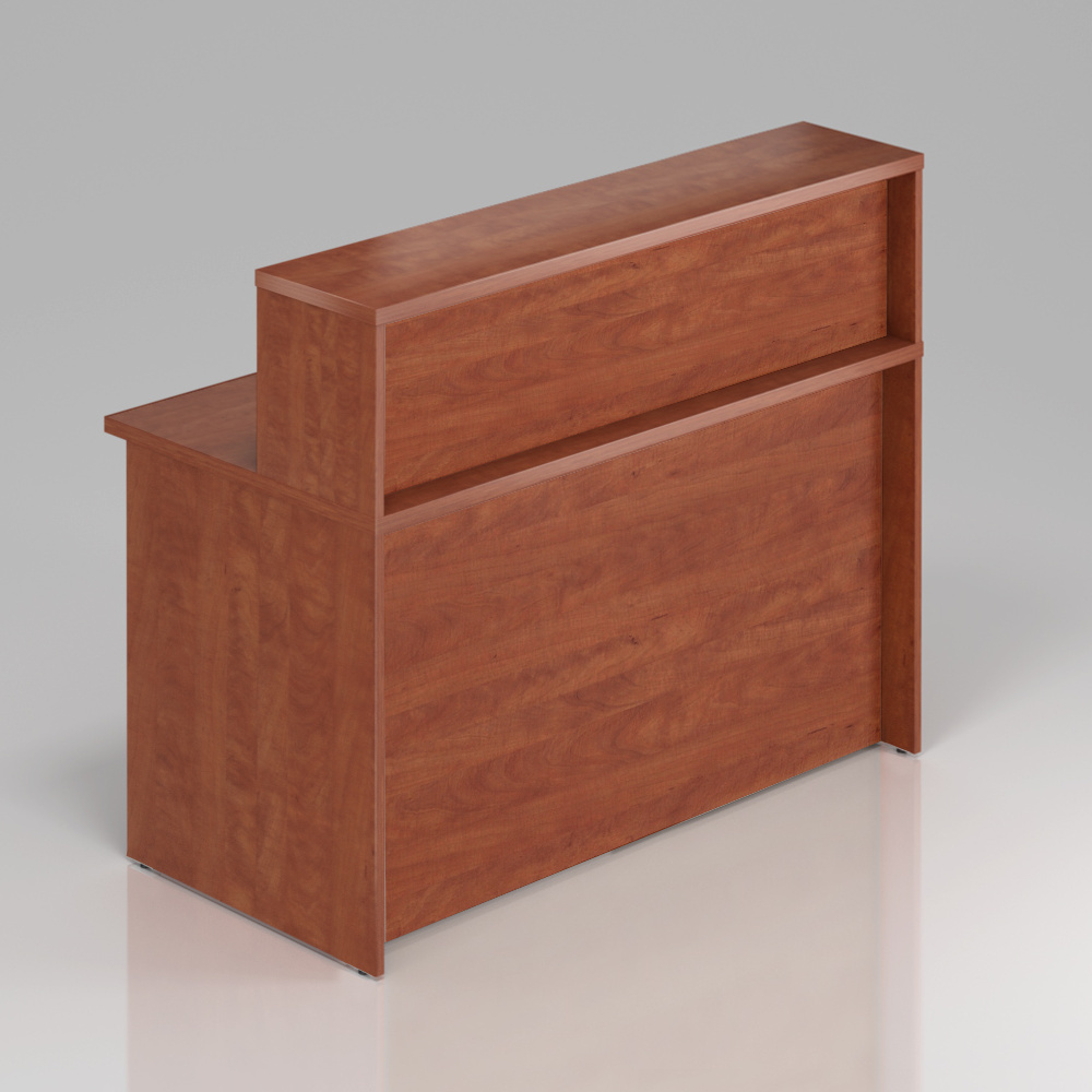 Recepčný pult s nadstavbou Komfort, 136x70x111 cm - NLKA13 03