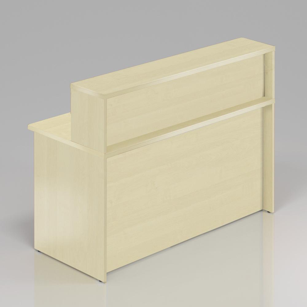 Recepčný pult s nadstavbou Komfort, 136x70x111 cm - NLKA13 12