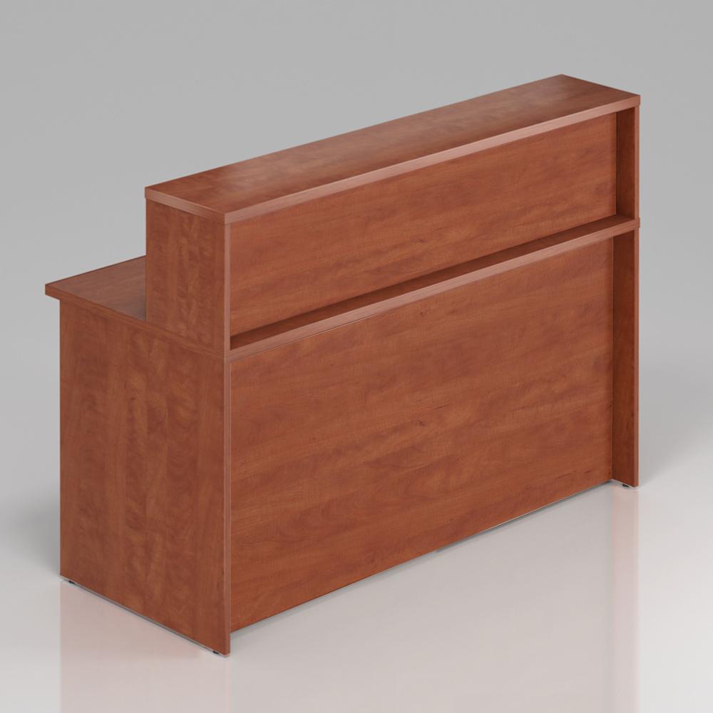 Recepčný pult s nadstavbou Komfort, 160x70x111 cm - NLKA16 03