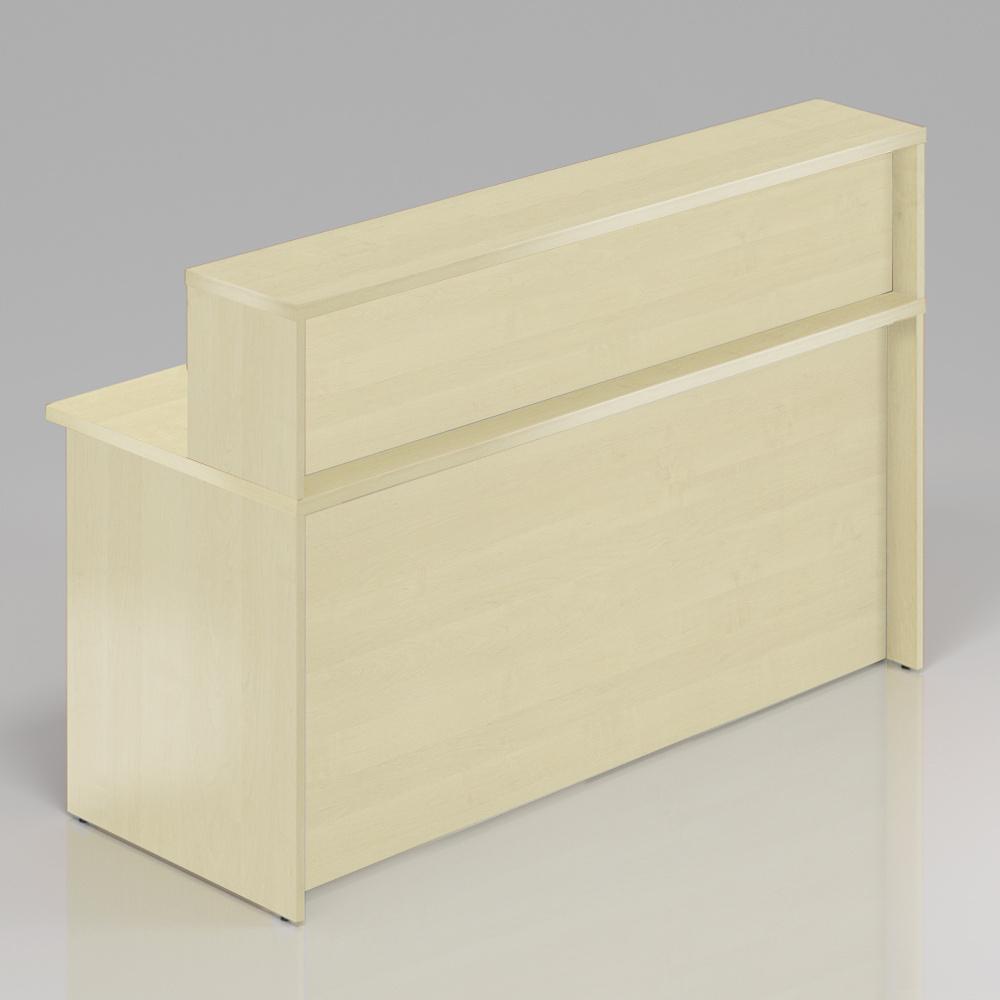 Recepčný pult s nadstavbou Komfort, 160x70x111 cm - NLKA16 12