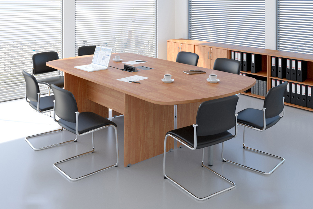 Zostava kancelárskeho nábytku Komfort 8 javor - R111008 12