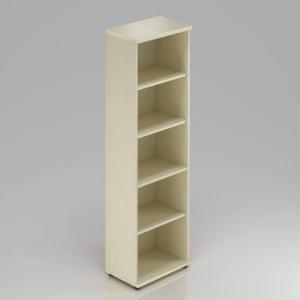 Kancelársky regál Komfort, 40x38,5x183,5 cm, bez dverí - S540 12