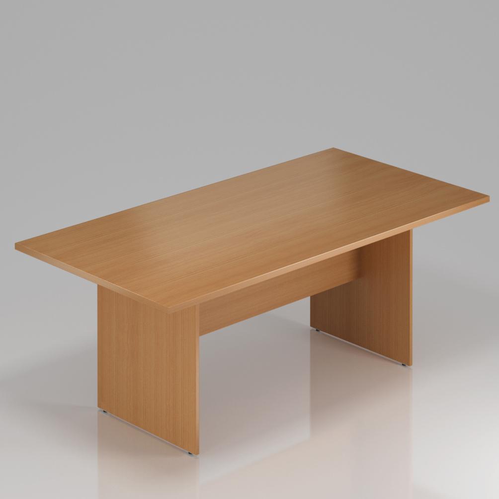 Konferenčný stôl Komfort, drevená podnož, 140x70x76 cm - SKA24 11