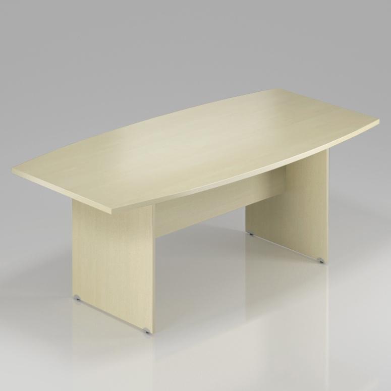 Konferenčný stôl Komfort, drevená podnož, 200x100x76 cm - SKA33 12