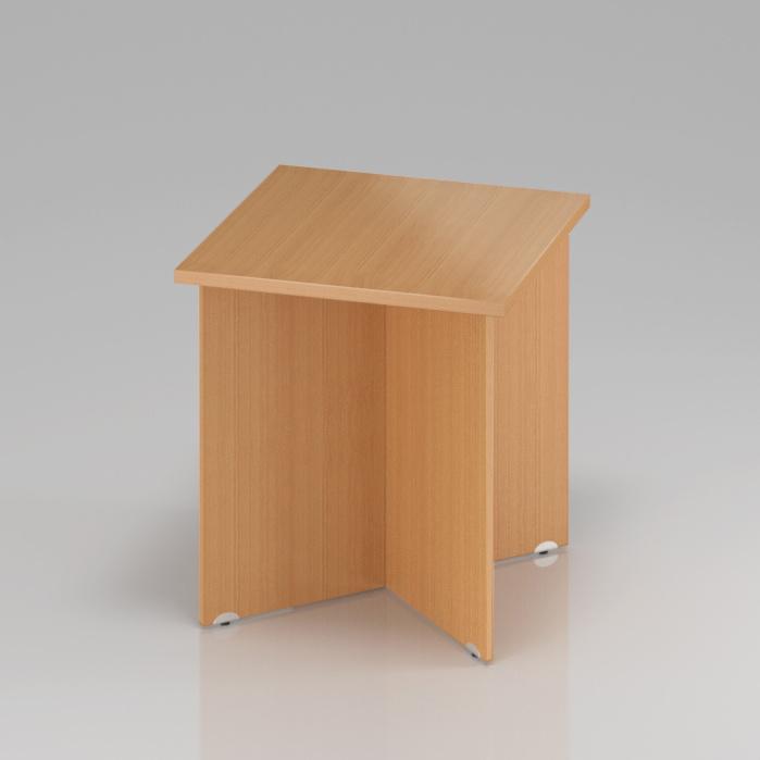 Konferenčný stôl Komfort, drevená podnož, 70x70x76 cm - SKA34 11