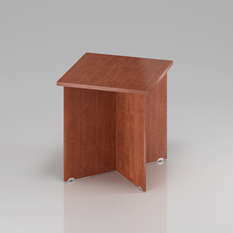 Konferenčný stôl Komfort, drevená podnož, 70x70x76 cm - SKA34 03