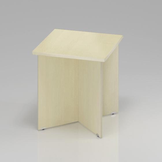 Konferenčný stôl Komfort, drevená podnož, 70x70x76 cm - SKA34 12