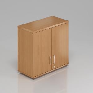 Kancelárska skriňa nadstavbová Komfort, 80x38,5x75 cm, dvere 2/2 - SN282 11