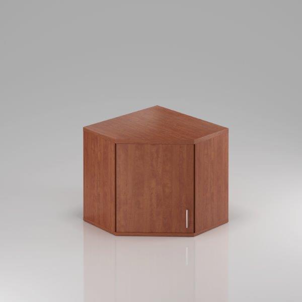 Kancelárska skriňa rohová Komfort, 80x80x75 cm, dvere 2/2 - SNR282 03