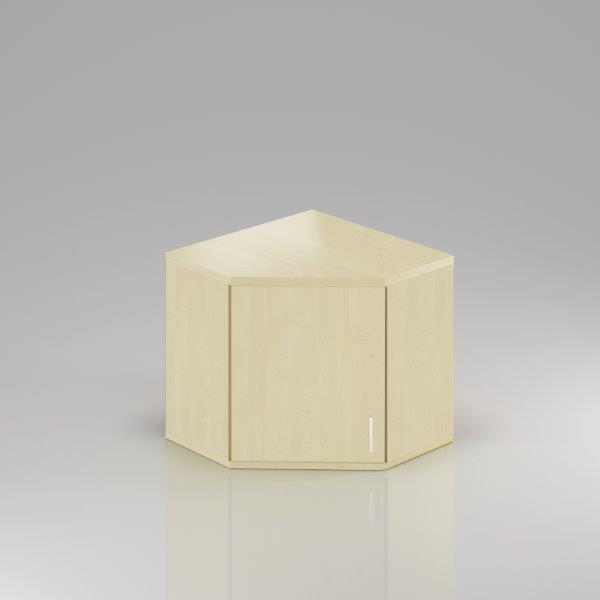 Kancelárska skriňa rohová Komfort, 80x80x75 cm, dvere 2/2 - SNR282 12