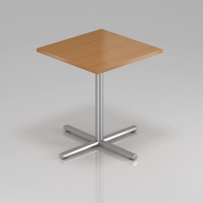Konferenčný stôl Komfort, kovová podnož, 70x70x76 cm - SPR34 11