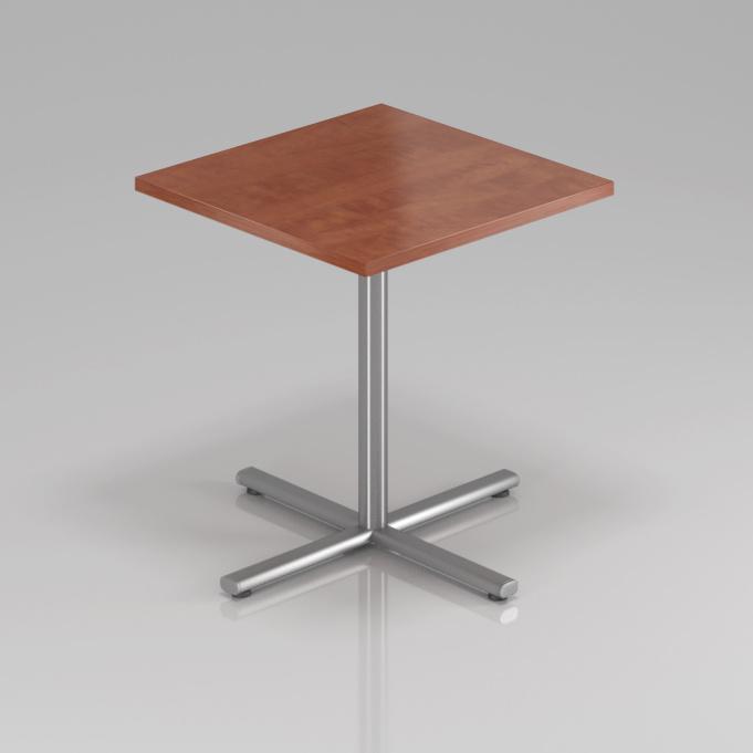Konferenčný stôl Komfort, kovová podnož, 70x70x76 cm - SPR34 03