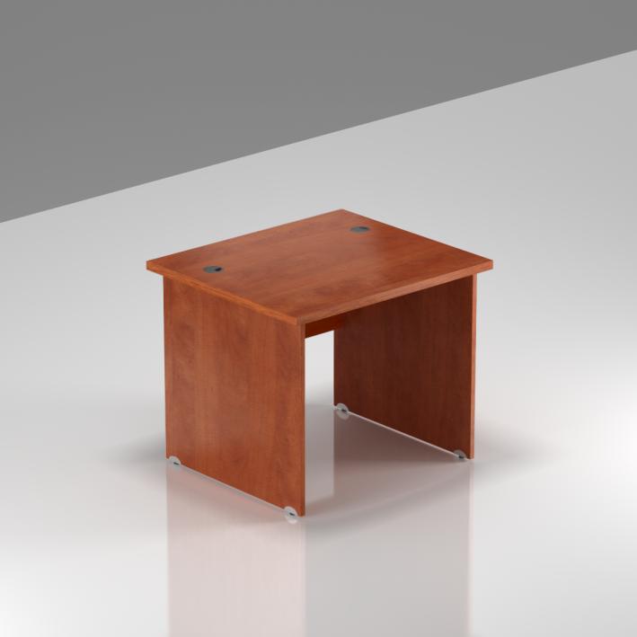 Kancelársky stôl Komfort, drevená podnož, 80x70x76 cm - BKA08 03