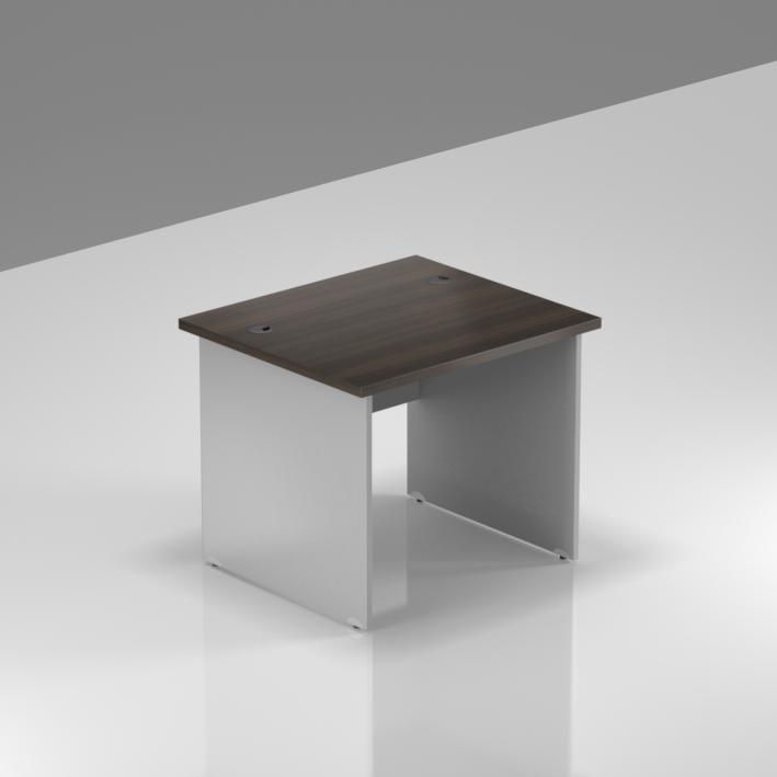 Kancelársky stôl Komfort, drevená podnož, 80x70x76 cm - BKA08 07