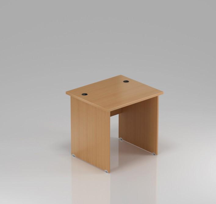 Kancelársky stôl Komfort, drevená podnož, 80x70x76 cm - BKA08 11