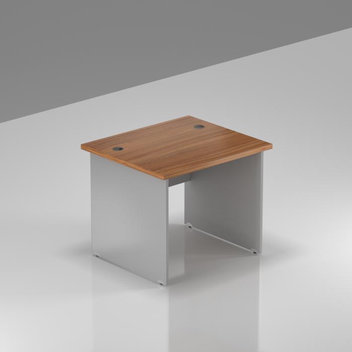 Kancelársky stôl Komfort, drevená podnož, 80x70x76 cm - BKA08 19