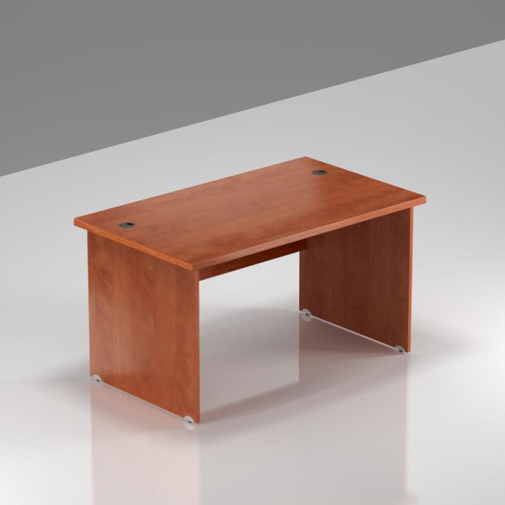 Kancelársky stôl Komfort, drevená podnož, 120x70x76 cm - BKA12 03