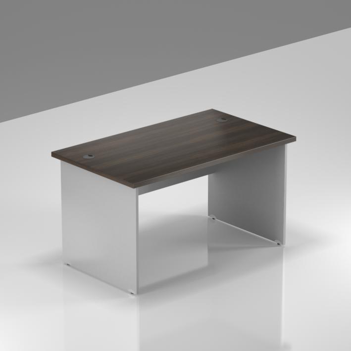 Kancelársky stôl Komfort, drevená podnož, 120x70x76 cm - BKA12 07