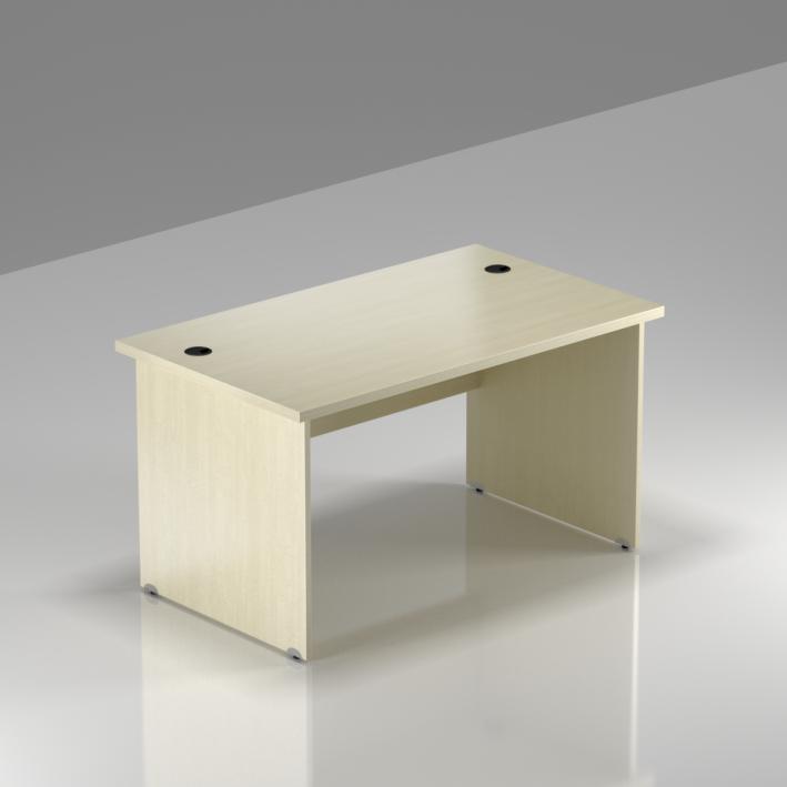 Kancelársky stôl Komfort, drevená podnož, 120x70x76 cm - BKA12 12