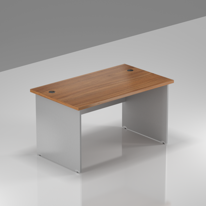Kancelársky stôl Komfort, drevená podnož, 120x70x76 cm - BKA12 19