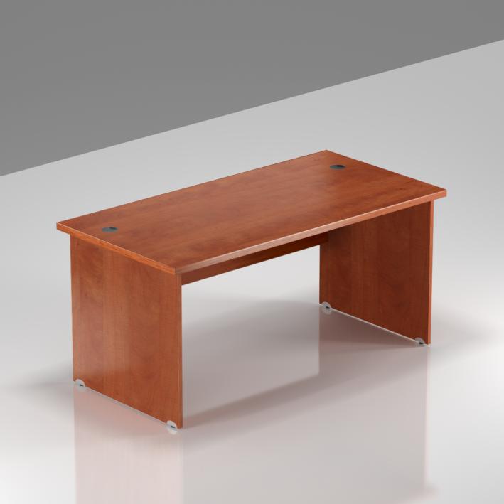 Kancelársky stôl Komfort, drevená podnož, 140x70x76cm - BKA14 03