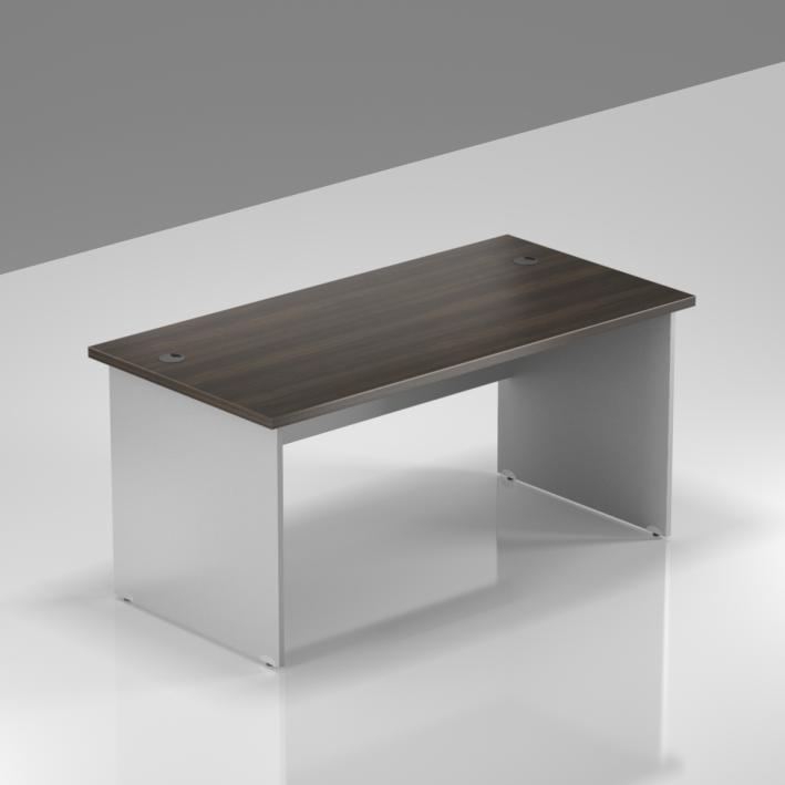 Kancelársky stôl Komfort, drevená podnož, 140x70x76cm - BKA14 07
