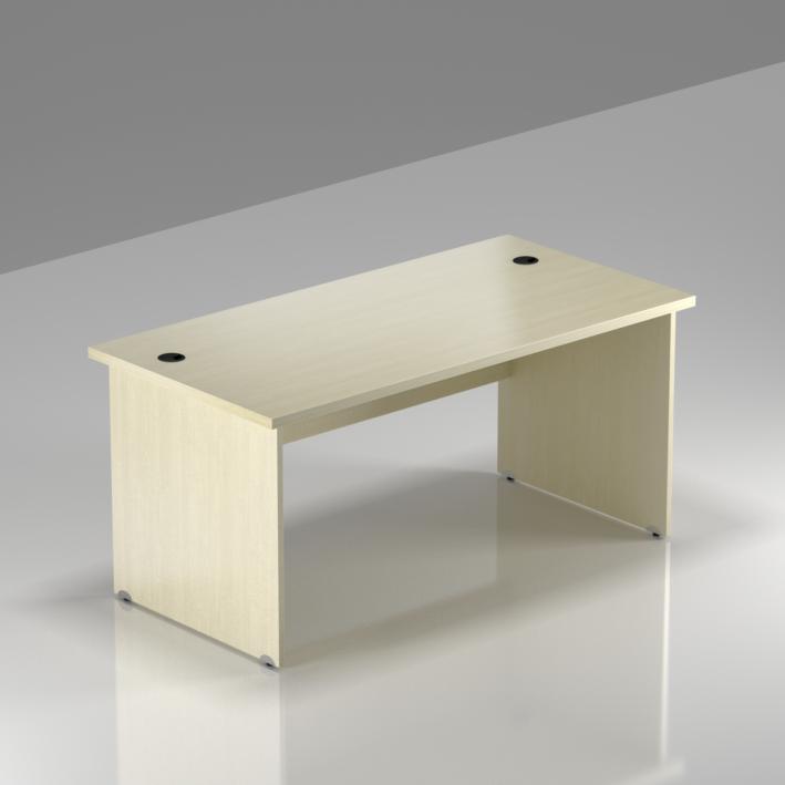 Kancelársky stôl Komfort, drevená podnož, 140x70x76cm - BKA14 12