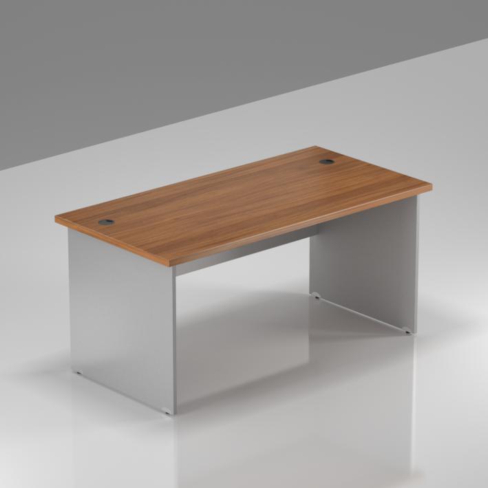 Kancelársky stôl Komfort, drevená podnož, 140x70x76cm - BKA14 19