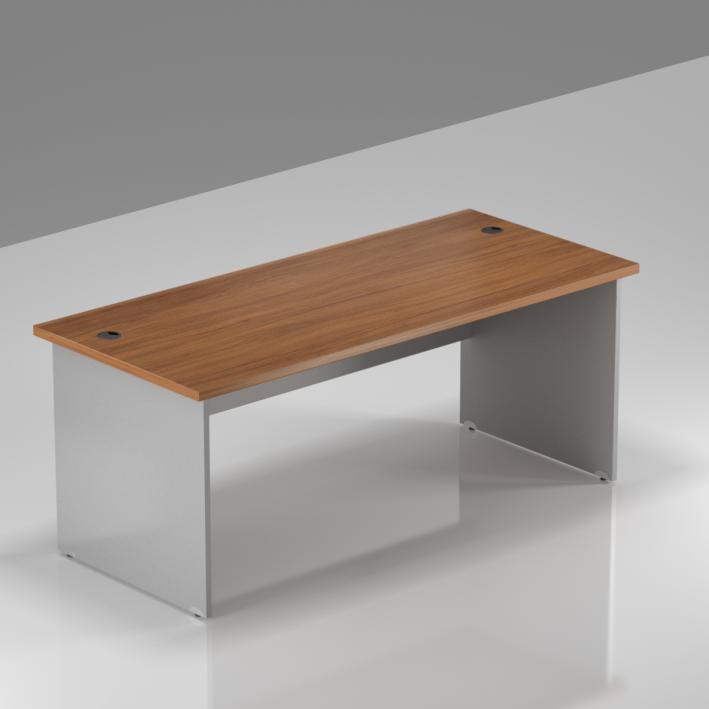 Kancelársky stôl Komfort, drevená podnož, 160x70x76 cm - BKA16 19