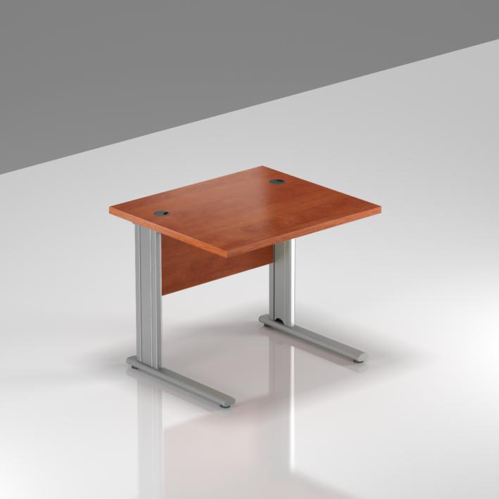 Kancelársky stôl Komfort, kovová podnož, 80x70x76cm - BPR08 03