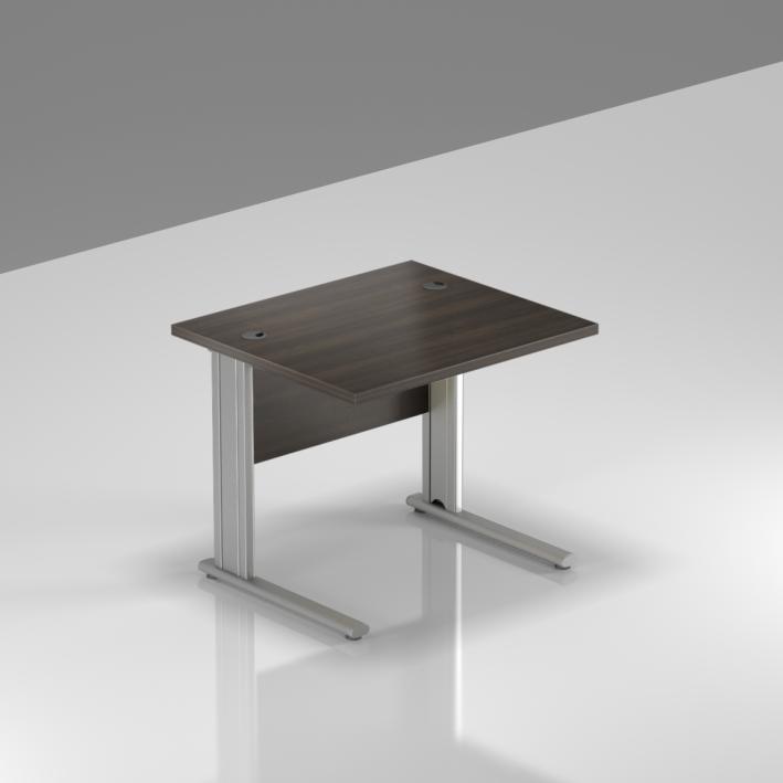 Kancelársky stôl Komfort, kovová podnož, 80x70x76cm - BPR08 07