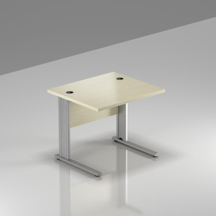 Kancelársky stôl Komfort, kovová podnož, 80x70x76cm - BPR08 12