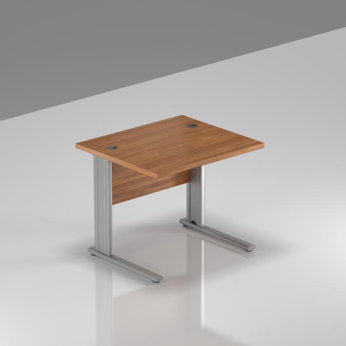 Kancelársky stôl Komfort, kovová podnož, 80x70x76cm - BPR08 19