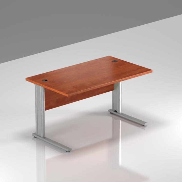 Kancelársky stôl Komfort, kovová podnož, 120x70x76 cm - BPR12 03