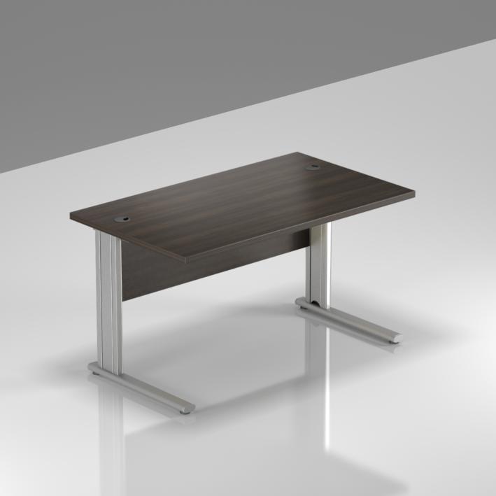 Kancelársky stôl Komfort, kovová podnož, 120x70x76 cm - BPR12 07